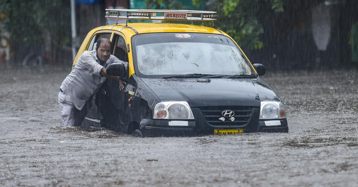 Red alert issued for Mumbai for today as rains lash city, local train services disrupted