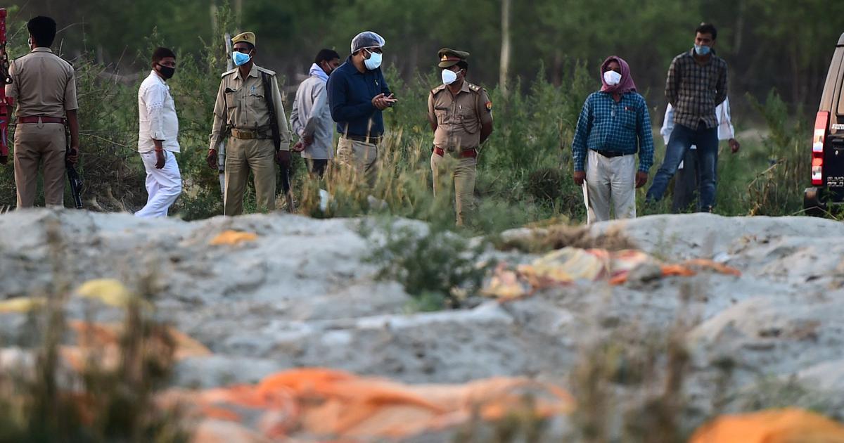 'Conspiracy' by 'literary naxals': Gujarat Sahitya Akademi criticises poem on corpses found in Ganga