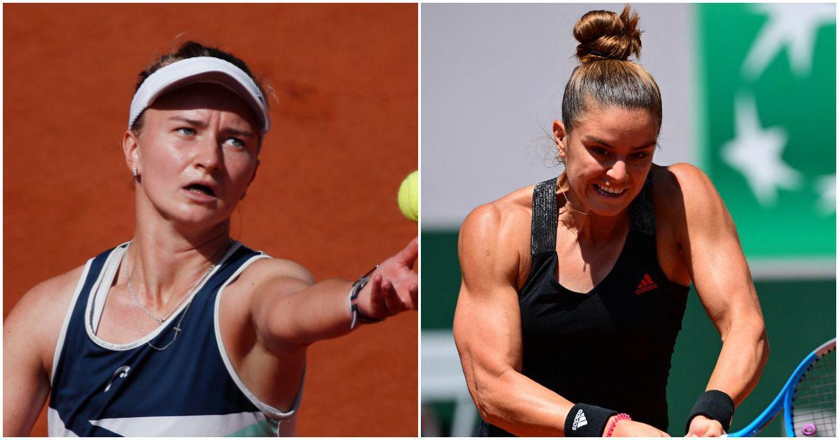 French Open, women's singles semifinals live: Krejcikova beats Sakkari in thriller to reach final