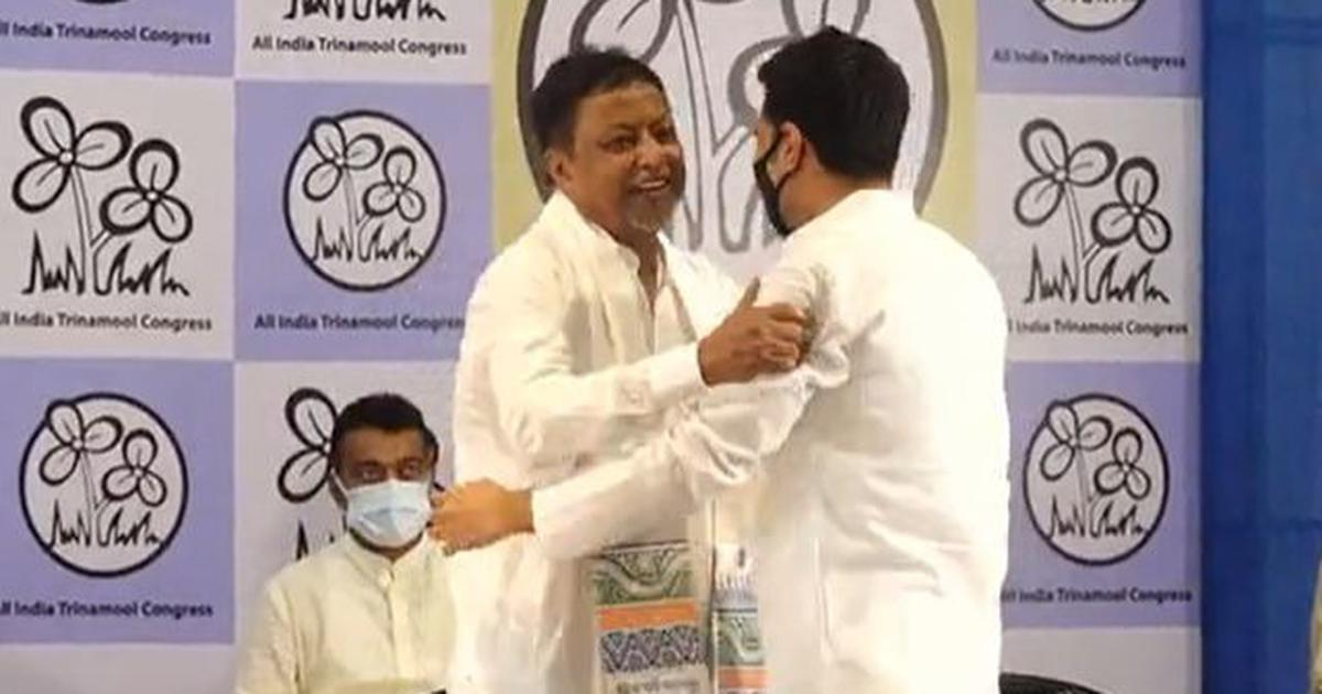 West Bengal: Mukul Roy rejoins Trinamool Congress after leaving party four years ago