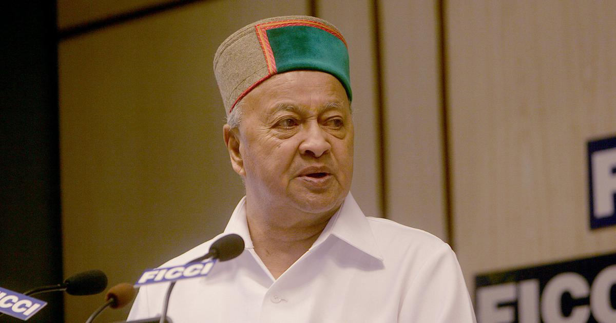 Covid-19: Former Himachal Pradesh CM tests positive for second time within two months