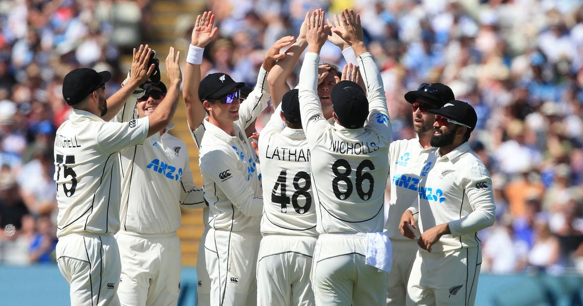 Watch highlights: New Zealand on verge of series win as England collapse on day three of second Test