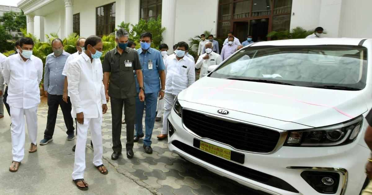 Telangana CM buys 32 luxury cars for IAS officers, Opposition raises state's Rs 4 lakh crore debt
