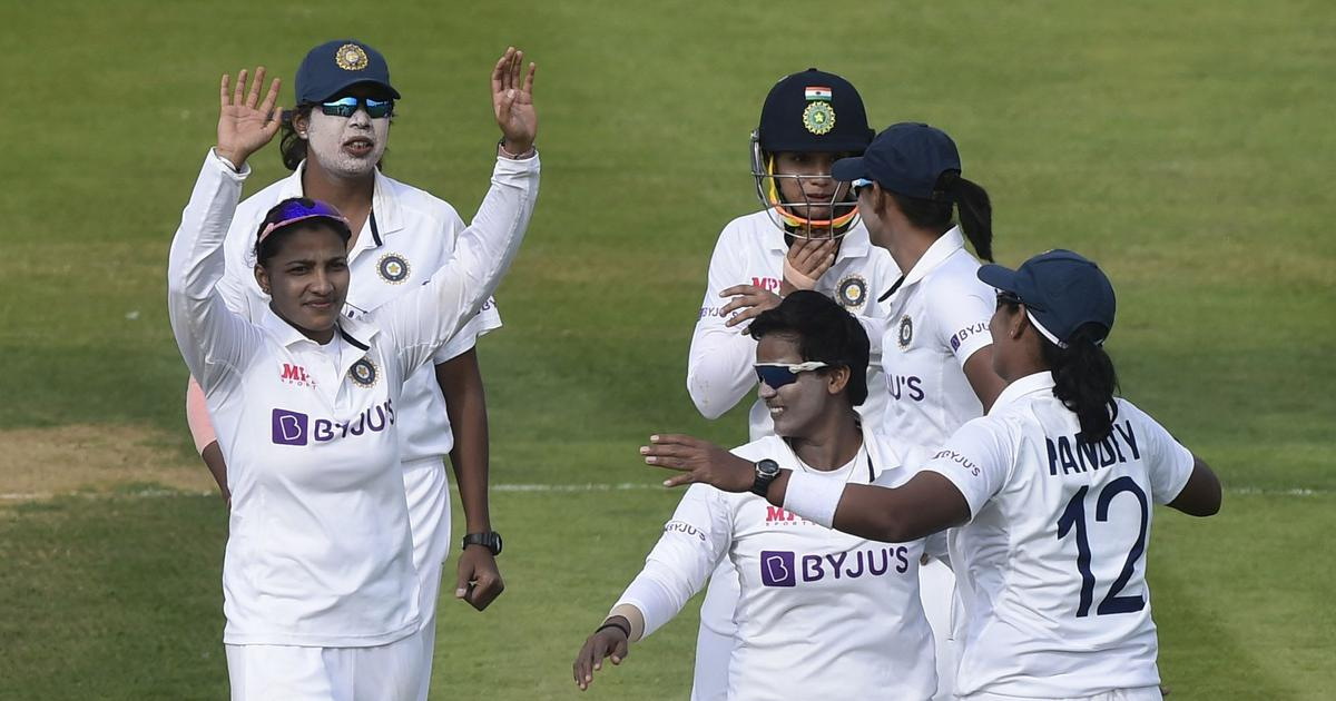 One-off Test: With England in control, Deepti Sharma and Sneh Rana provide India a timely twist