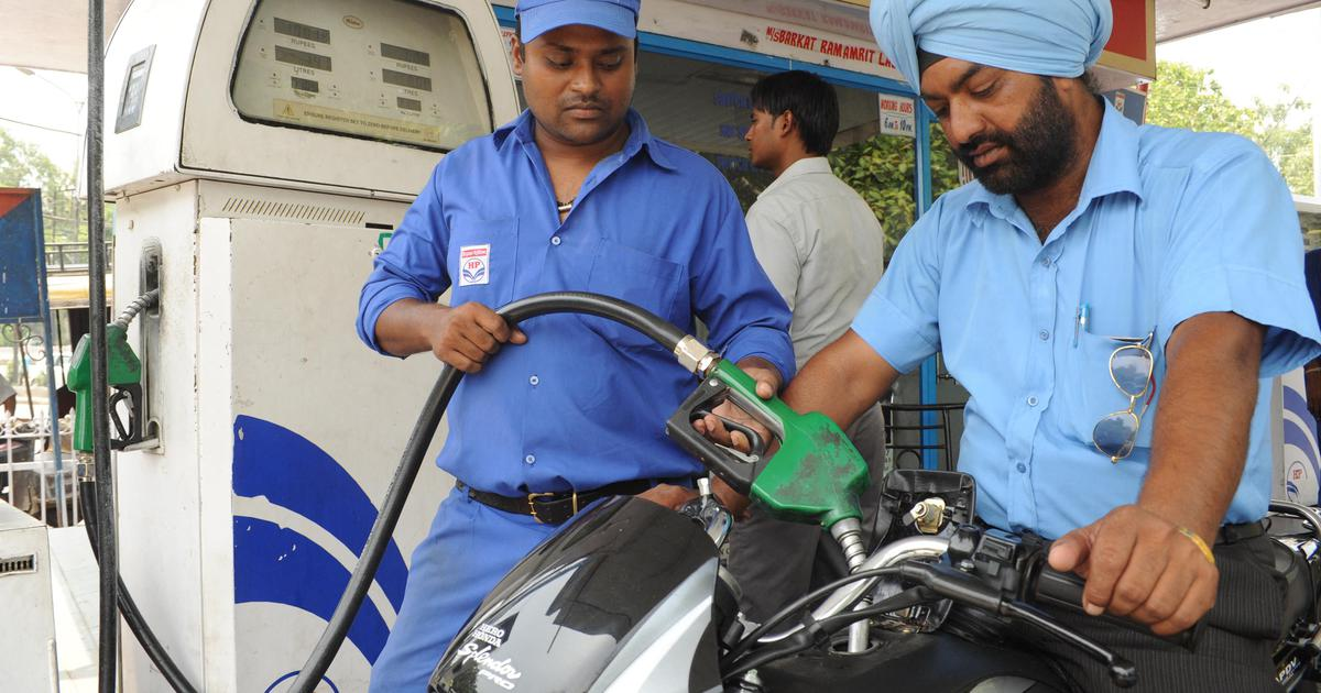 The surging fuel prices are pushing up inflation. So why isn't the Indian government doing anything?