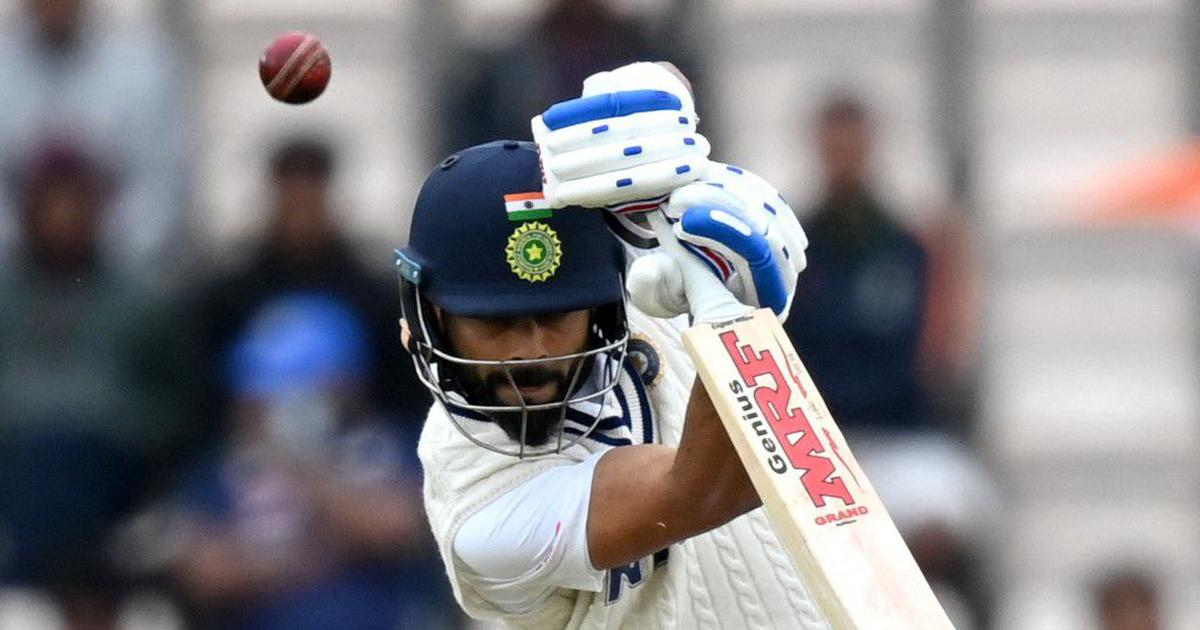 The right approach: On a cold and gloomy day, India's batsmen inspired confidence