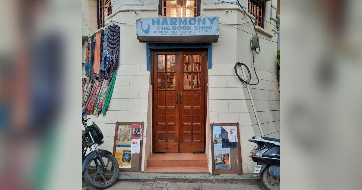 In Varanasi, Harmony bookshop is keeping its faith in the return of customers once the pandemic ends