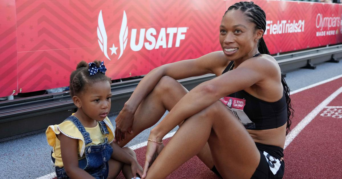 Pause, rewind, play: The remarkable Olympic career of Allyson Felix