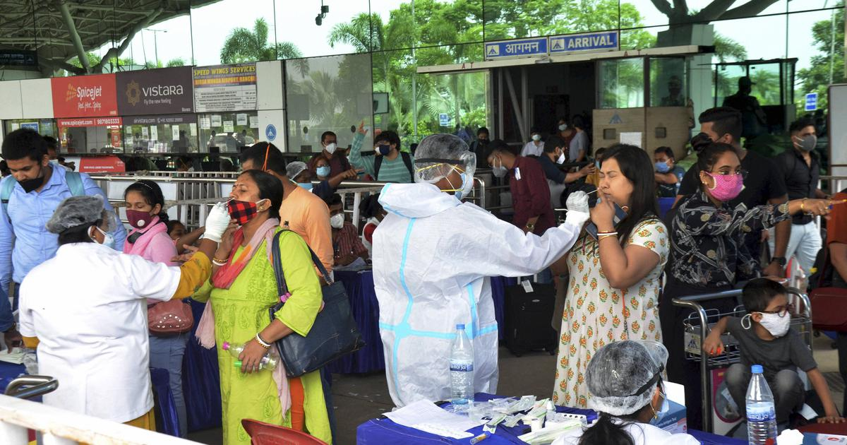 Coronavirus: India records 50,040 new cases, 1,258 deaths in a day