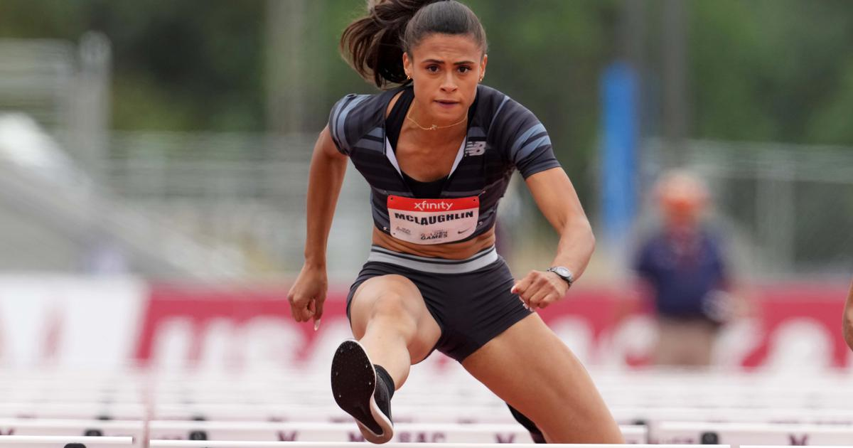 Athletics: Sydney McLaughlin beats Dalilah Muhammad to break 400m hurdles world record at US trials