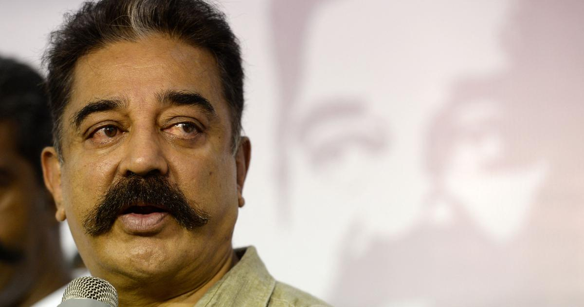 Kamal Hassan opposes Cinematograph Bill, says 'cannot afford to be three iconic monkeys'