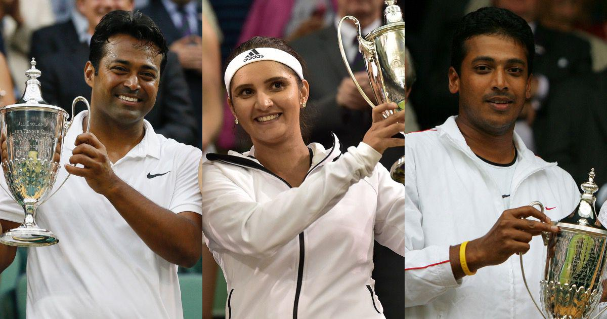 Watch: The Wimbledon triumphs of Indian tennis stars Sania Mirza, Leander Paes and Mahesh Bhupathi