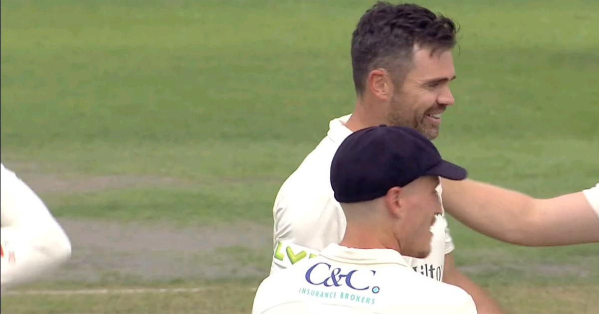 Watch: With a sensational spell, James Anderson completes milestone of 1,000 first-class wickets