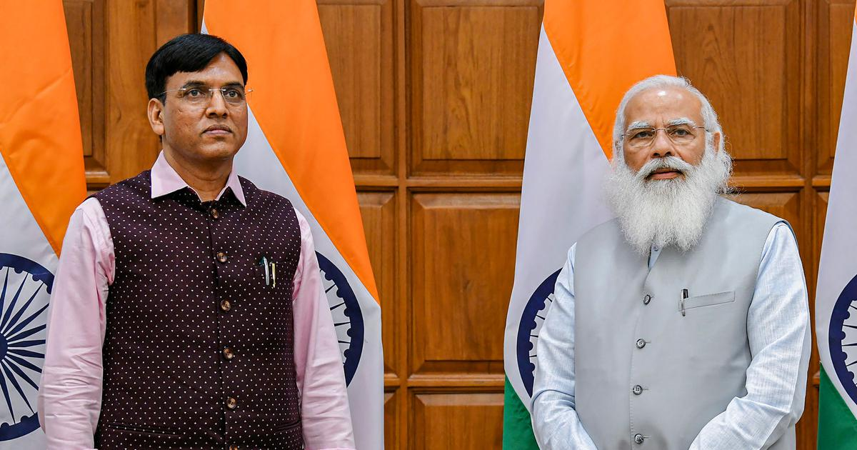 Cabinet reshuffle: Mansukh Mandaviya is new health minister. Here's the full list of who got what