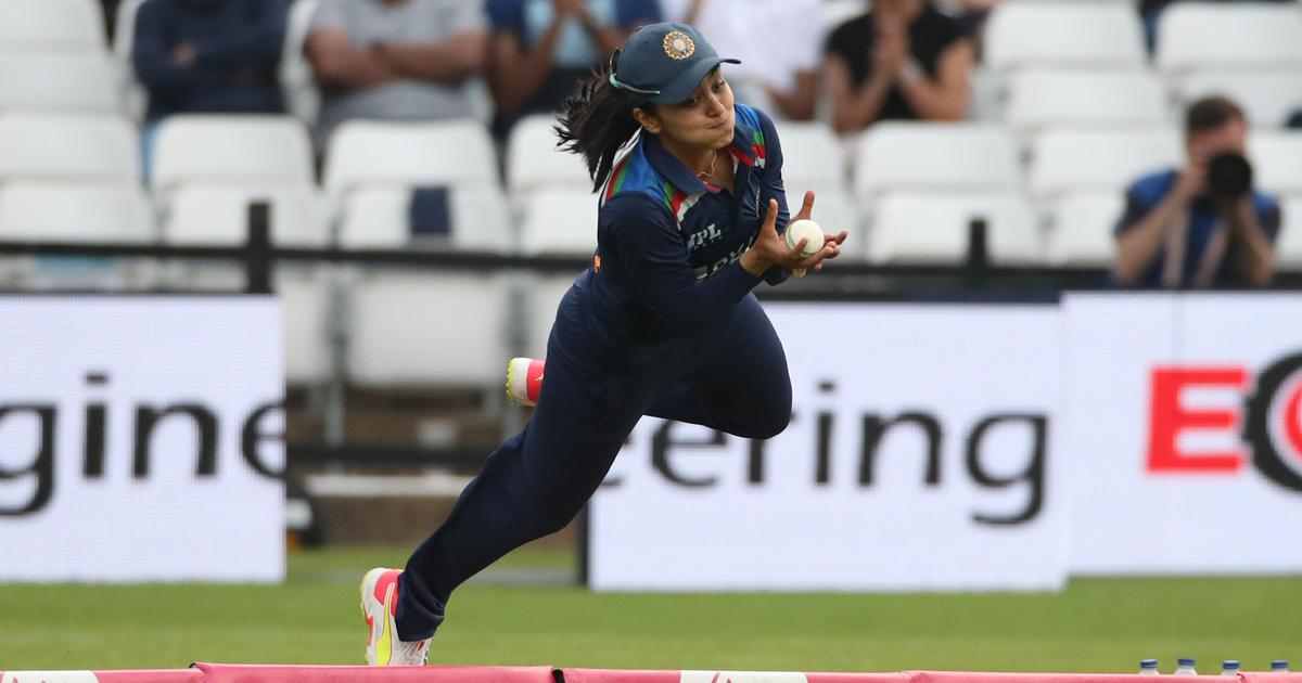 Watch: India's Harleen Deol takes a stunning catch in first T20I against England