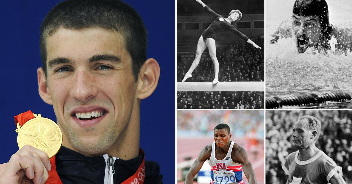 Tokyo 2020: Data check – From Larisa Latynina to Michael Phelps, the most successful Olympians