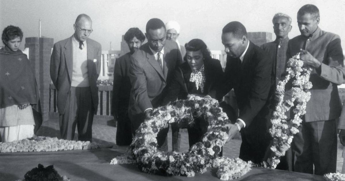 Pilgrimage to India: When Martin Luther King Jr followed in Gandhi's footsteps