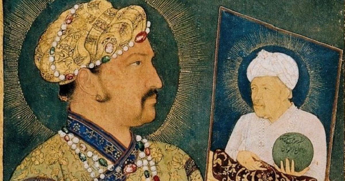 As Jahangir contemplates a portrait of his father, a reversal of our ideas about dreams and reality