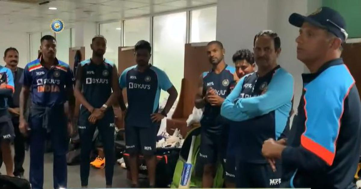 Watch: Responded like champions – Dravid's dressing room speech after India's thrilling ODI win