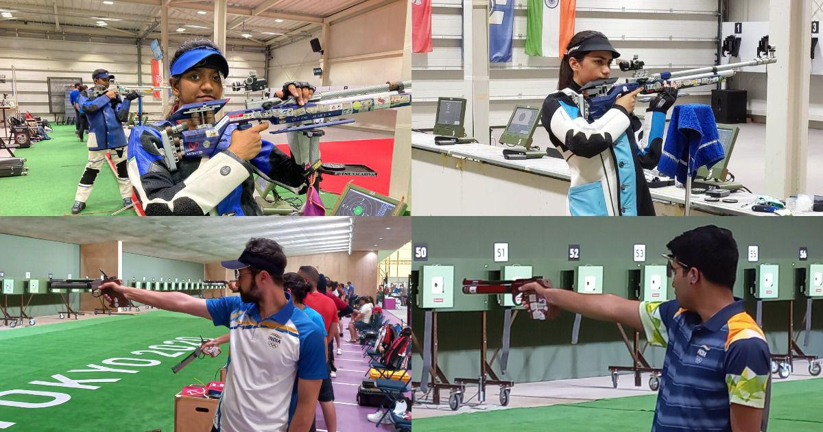 Tokyo 2020: Big guns in women's 10m air rifle, men's 10m air pistol begin Indian shooting campaign