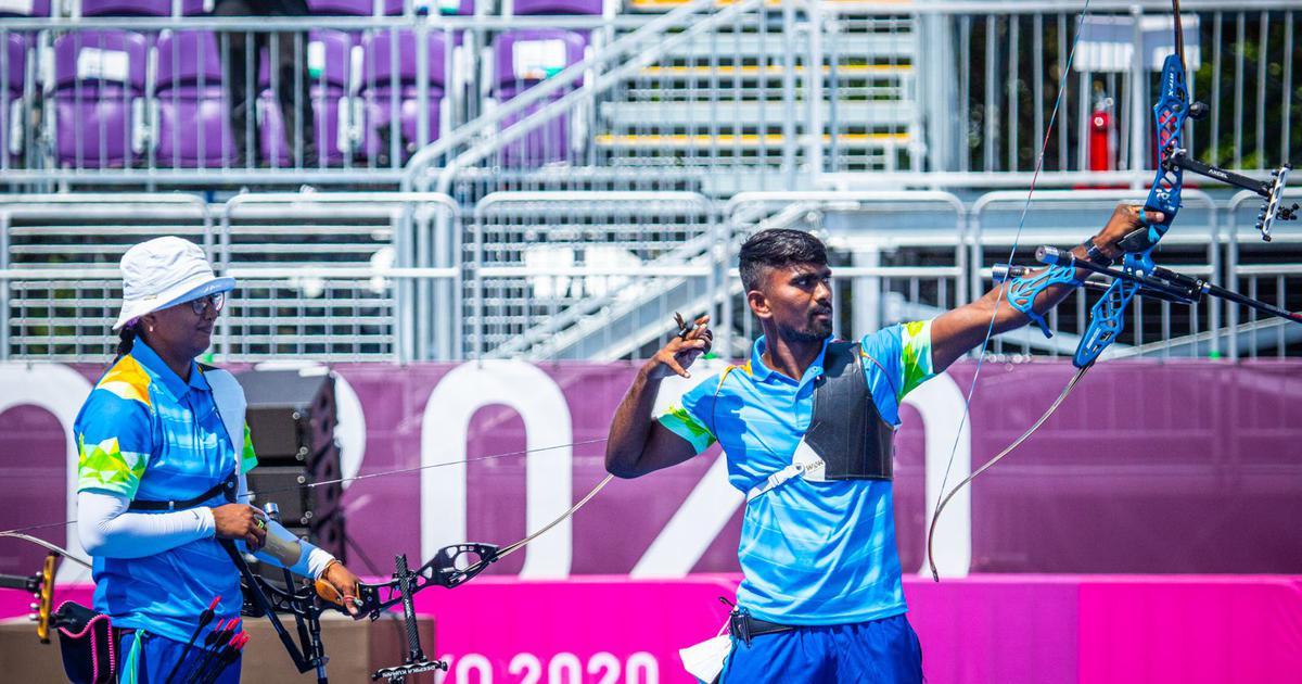 Tokyo 2020, archery: India's Deepika Kumari, Pravin Jadhav rally to reach mixed team quarters