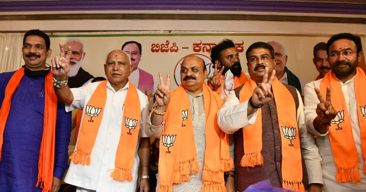 Basavaraj Bommai is Karnataka's new chief minister