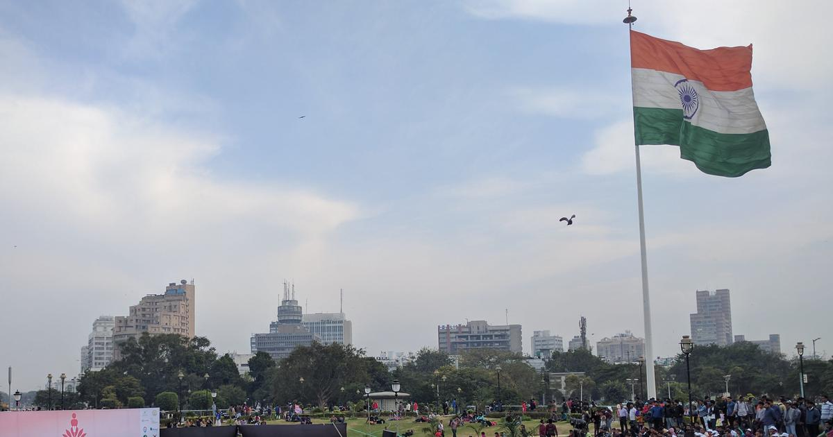 Why is the Delhi government spending Rs 84 crore to install 500 giant flags?