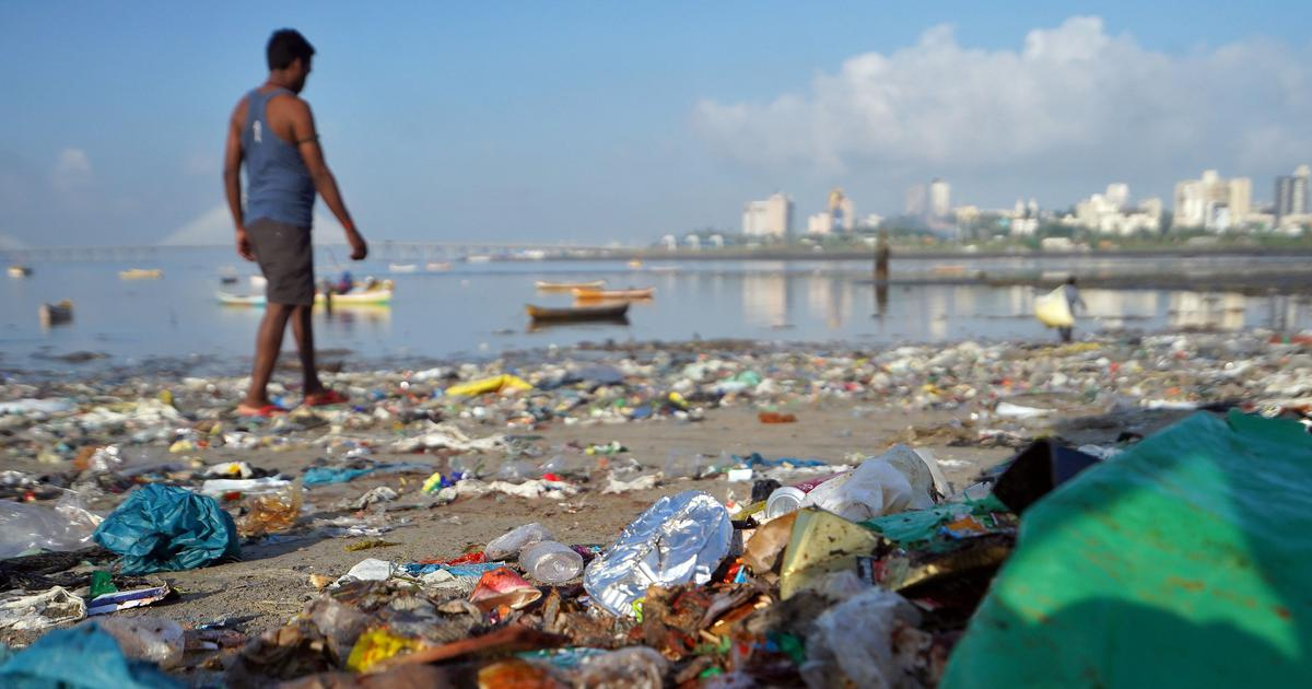 What Mumbai's sea of plastic taught researchers about the city's economy of waste
