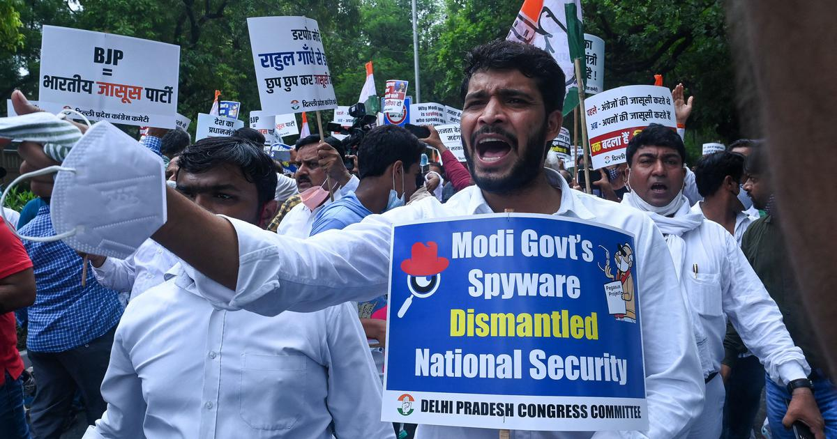 IT panel meet on Pegasus row put off as BJP MPs refused to sign attendance, says Congress