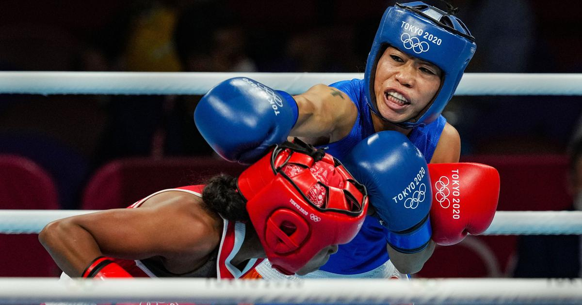 Tokyo 2020, boxing: Mary Kom goes down fighting against Ingrit Valencia to bow out at last 16 stage