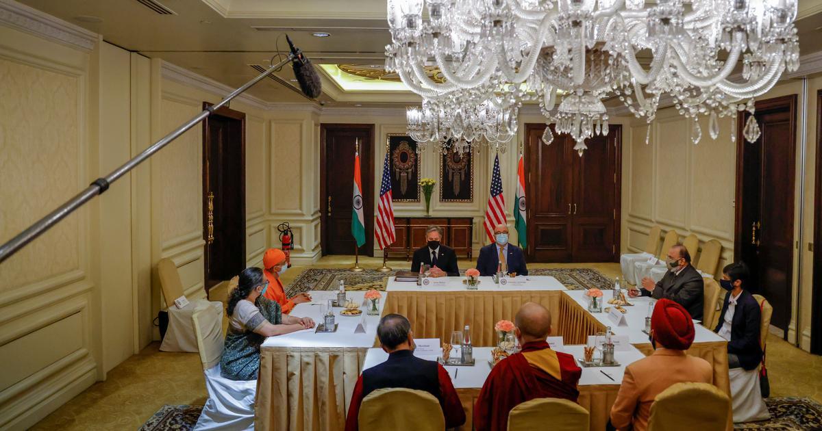 China opposes US top diplomat Antony Blinken's meeting with Dalai Lama's aide
