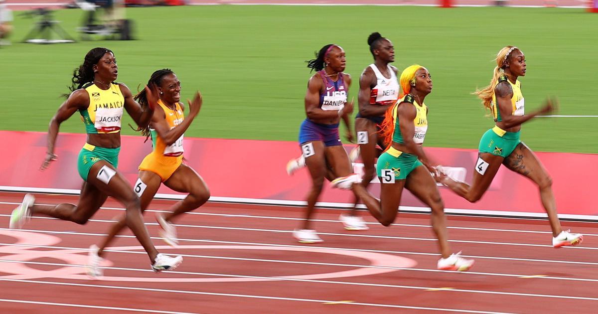 Tokyo 2020, athletics: Jamaica's Elaine Thompson-Herah defends 100m title, sets new Olympic record
