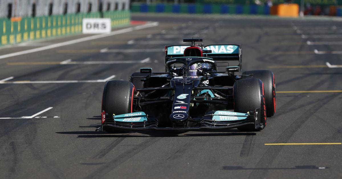 Formula One: Lewis Hamilton takes pole for Hungarian Grand Prix, Valtteri Bottas to start second