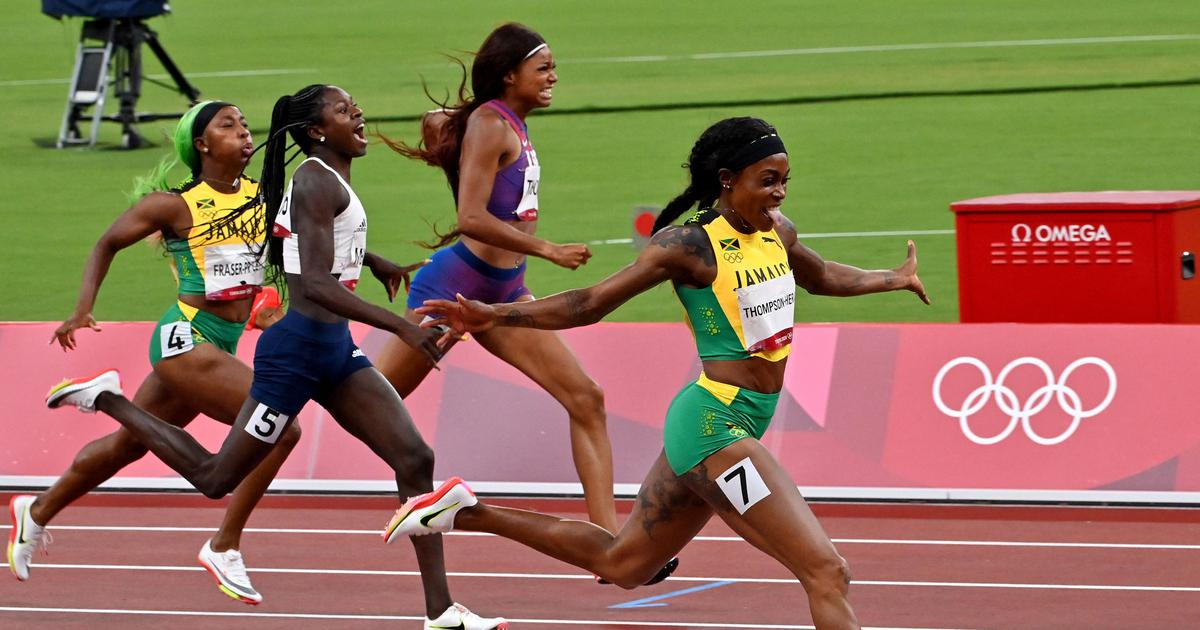 Tokyo 2020, athletics: Jamaica's Elaine Thompson-Herah wins 200m to seal historic Olympic double