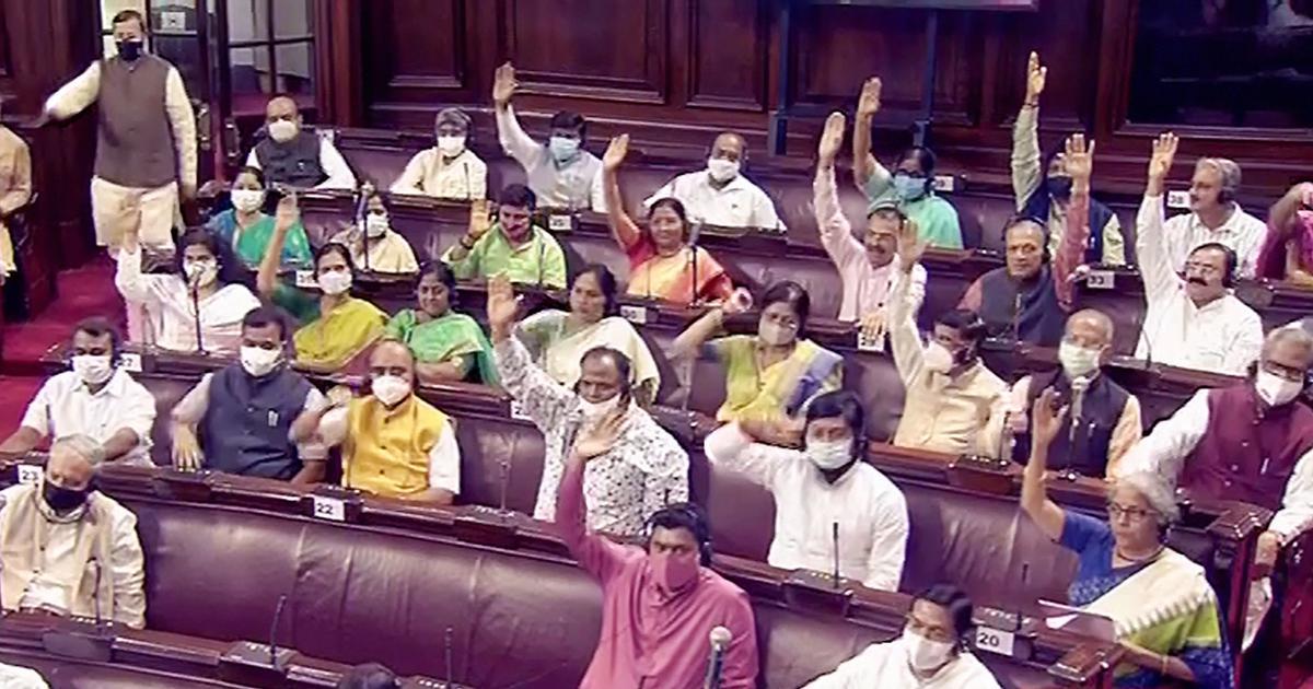 Top Parliament updates: Venkaiah Naidu suspends six TMC MPs from Rajya Sabha for disrupting House