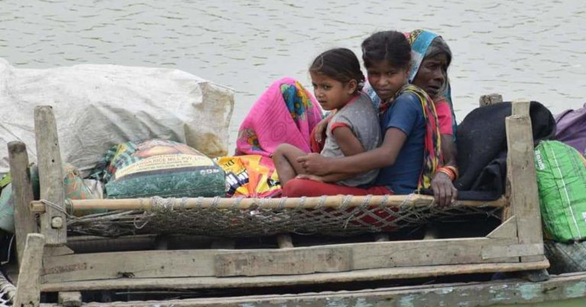 The Covid-19 pandemic has worsened the flood crisis in Bihar