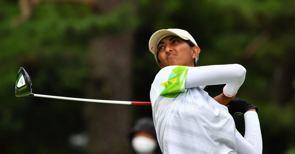 Golf: Aditi Ashok makes steady start at women's British Open, lies tied 22nd after opening round