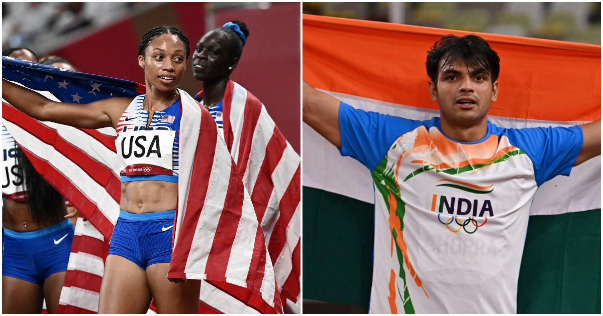 Tokyo 2020, athletics: On India's historic night, US legend Allyson Felix signs off with relay gold