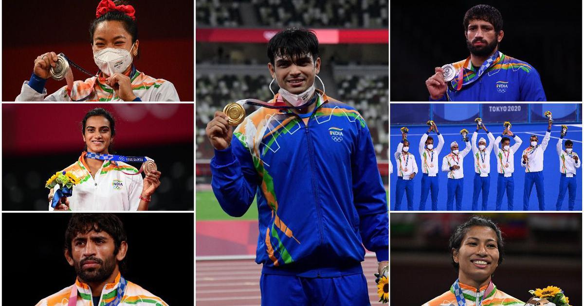 From Mirabai Chanu to Neeraj Chopra via PV Sindhu: India's seven medals at Tokyo Olympics
