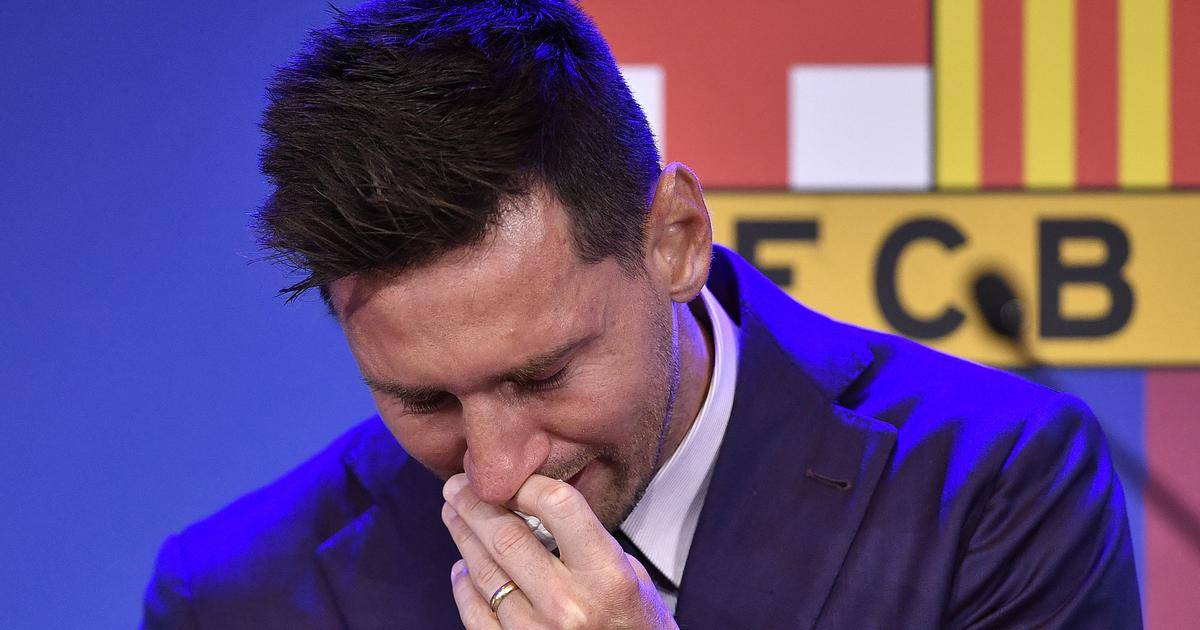 Can't believe he's going, so heartbreaking: Reactions to Lionel Messi's teary farewell to Barcelona