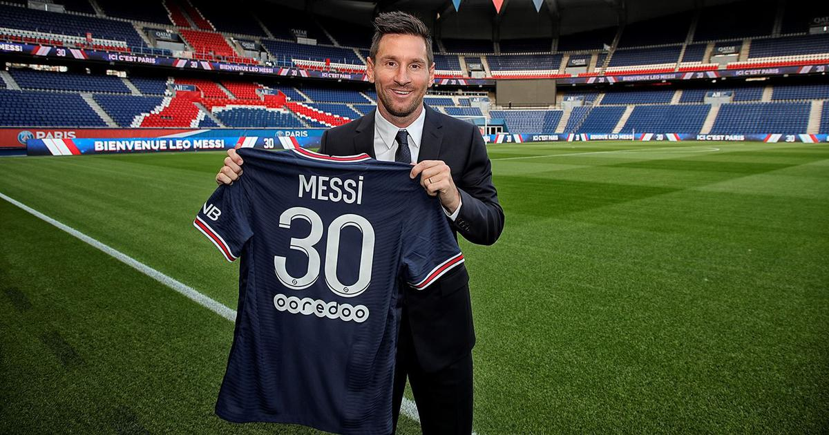I'm determined to help build something special for the club: Lionel Messi is officially a PSG player