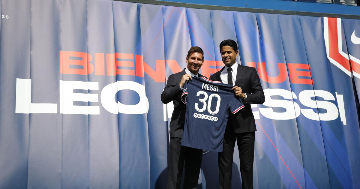 Football: For Qatar, Lionel Messi's arrival at PSG is a key part of the big picture