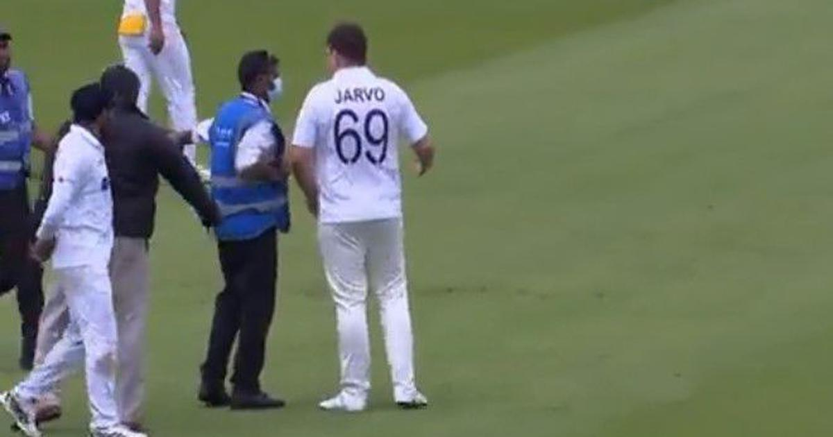 Jarvo 69: Man in Indian jersey enters pitch during Test against England, claims he's part of team
