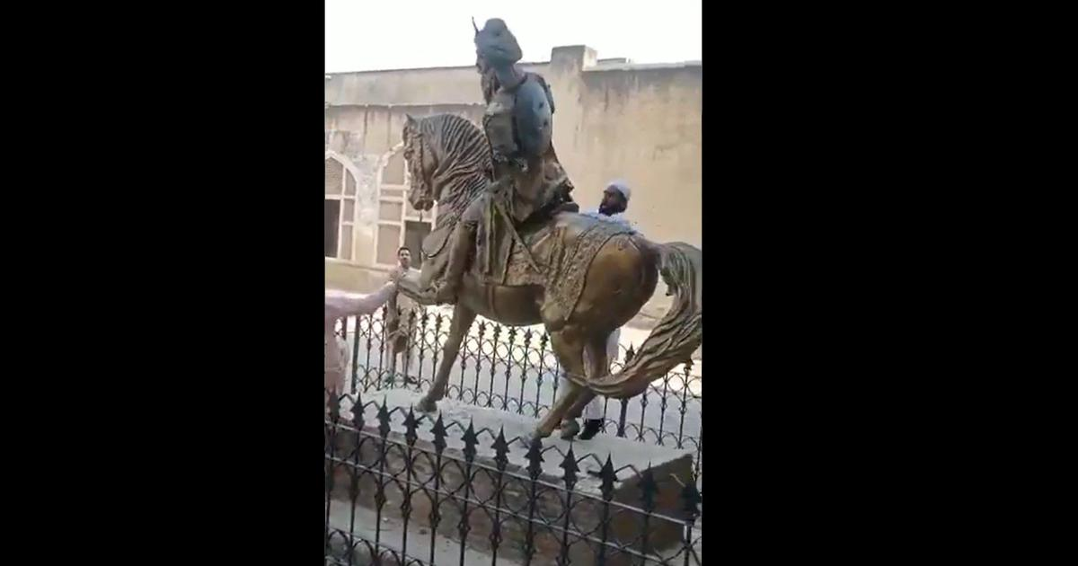 Pakistan: Sikh ruler Maharaja Ranjit Singh's statue vandalised in Lahore