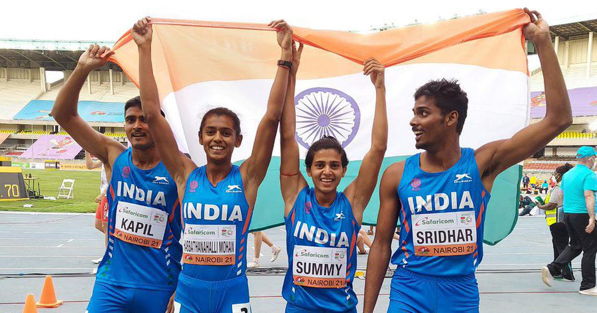 World Athletics U-20 Championships: India win bronze medal in mixed 4x400m relay