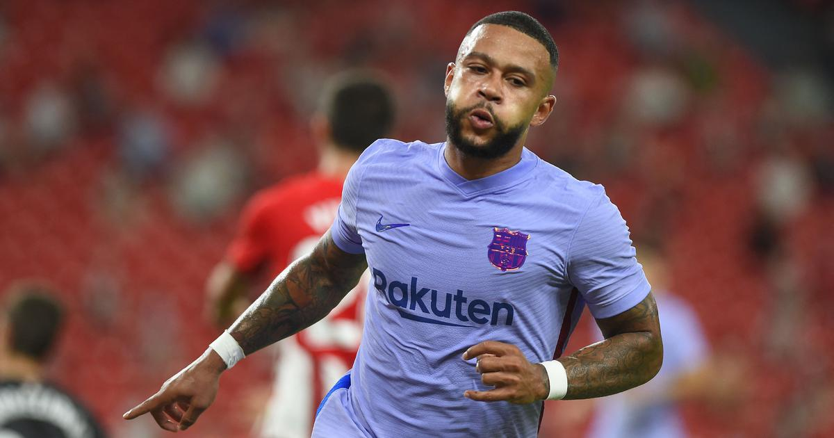 La Liga: Barcelona escape with a draw at Bilbao thanks to Memphis Depay's late strike