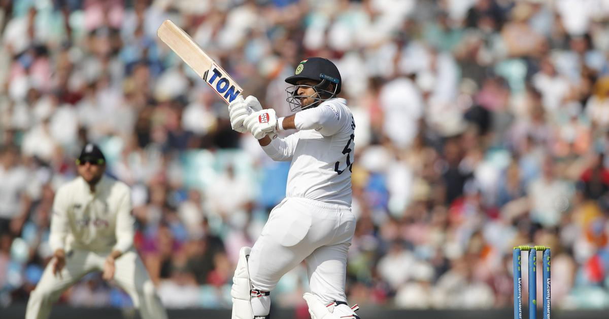 Fourth Test, day four: Thakur, Pant help India set huge target before England's openers fight back