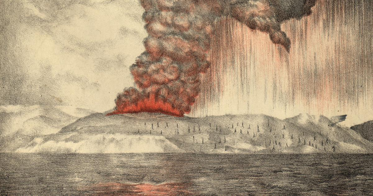 How flaming red sunsets led an amateur scientist in Hawaii to discover jet streams