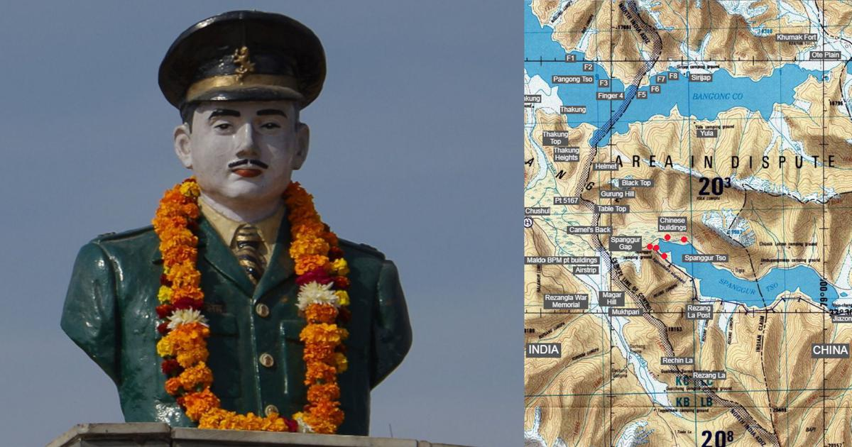 A new book recreates the exploits of the Indian Army at Rezang La during the 1962 war with China