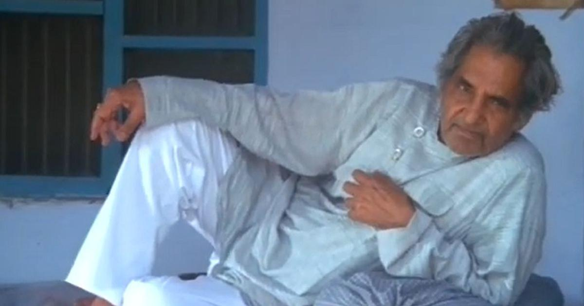 Watch: Documentary on writer, poet and lyricist Gopaldas Neeraj is out on YouTube